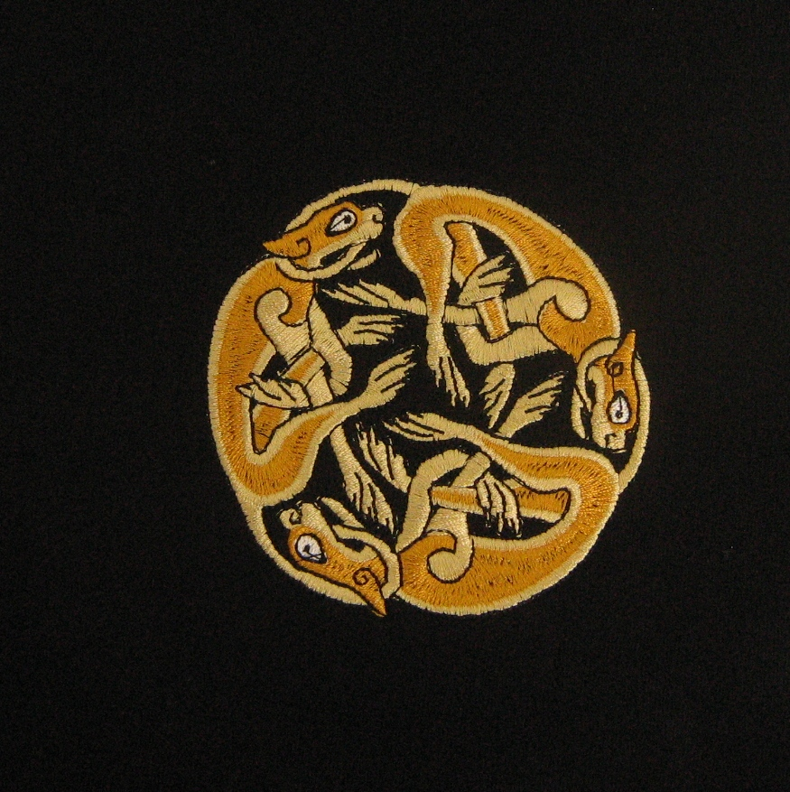 What Do Celtic Symbols Designs Meanthe Hounds Kim Doherty Textiles